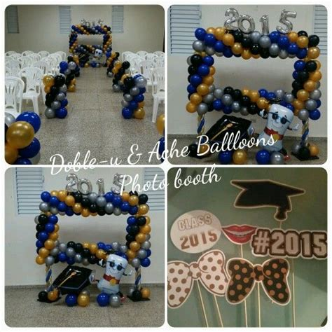 decoraciones de graduaciones 12 best doble u ache balloons images on pinterest