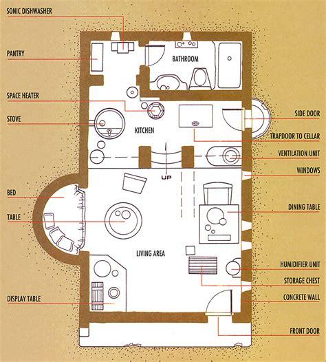 swg house floor plans image kenobis hut layout jpg wookieepedia fandom