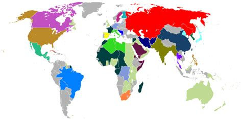 map of current us allies talk axis vs allies map alternative history wikia