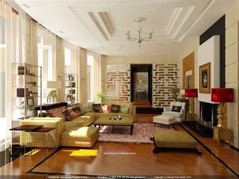 German Living Room Furniture Penthouse Apartment Tony Duquette Furniture Designer Enin Germanin