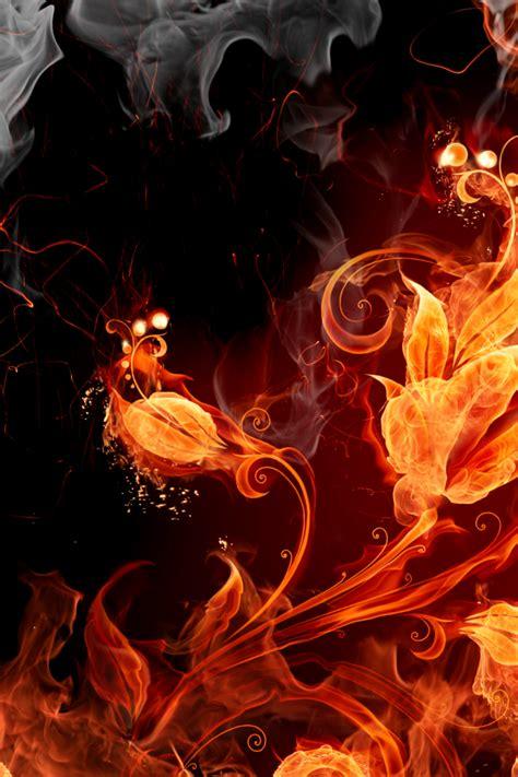 fire flower wallpaper wallpapersafari