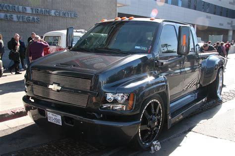 chevrolet kodiak custom front  photo  trucktrendcom