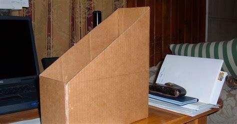 Teh Kotak 1 Kardus kotak majalah dari kardus bekas ide plus