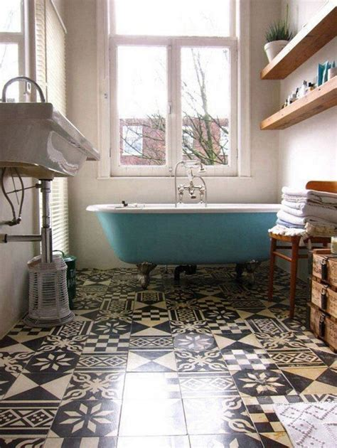 vintage inspired bathroom decor   world