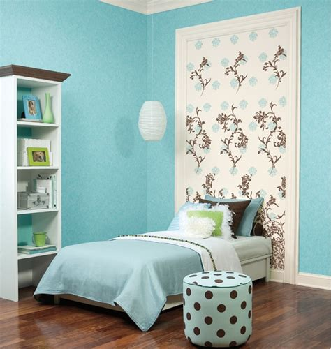themes in girl in hyacinth blue dreamy bright blue girls bedroom with awesome wallpaper