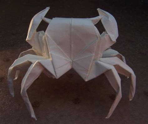 How To Make Paper Crab - origami crab by aphose on deviantart