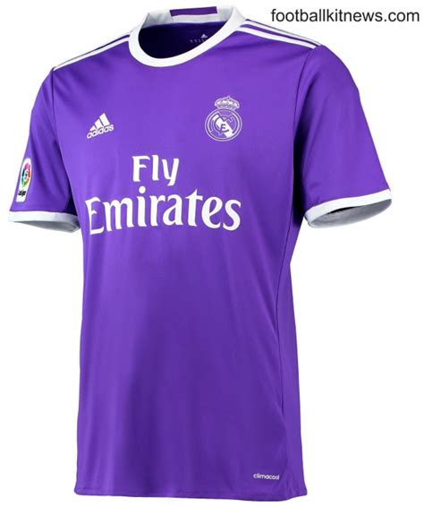 Jersey Real Madrid 3rd Away 1617 Sleeves Cetak Nama Patch new real madrid kits 2016 17 adidas unveil home away shirts for 16 17 football kit news