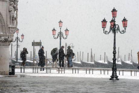 fotos venecia invierno venecia nevada hasta los topes 171 todosobreviajar