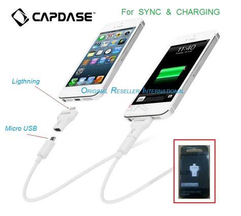 Original Capdase L Pin To Micro Usb Adapter T jual capdase l pin to micro usb adapter t m2 acc