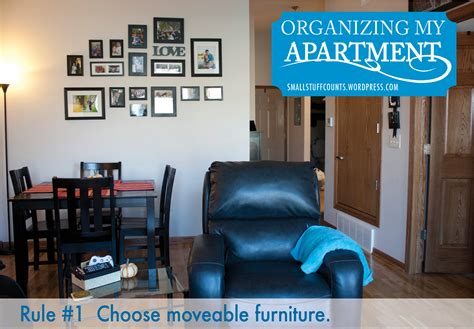how to organize a small apartment organizing my apartment 5 rules for a small living room