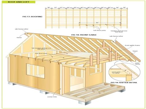 Cottage Plans Free | wood cabin plans free diy shed plans free cottage and