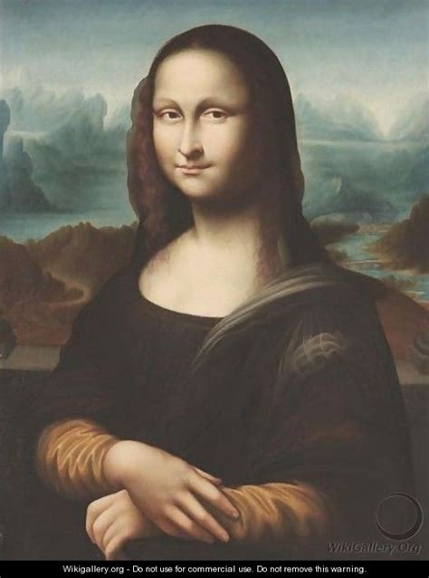 painting mona portrait of mona after leonardo da vinci italian