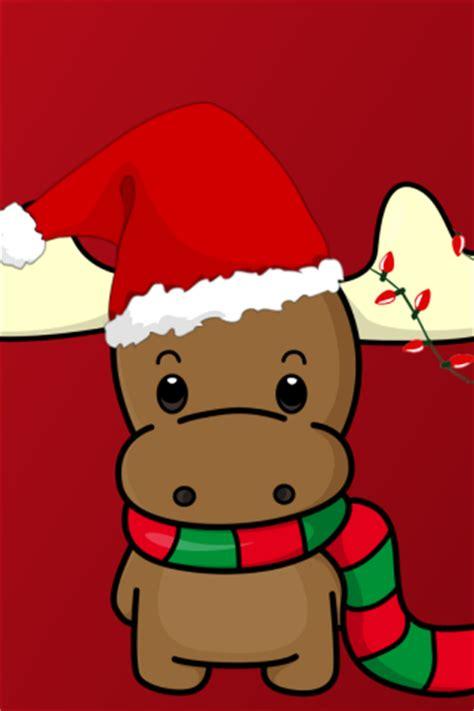happy christmas reindeer  hat wallpaper hd wallpapers