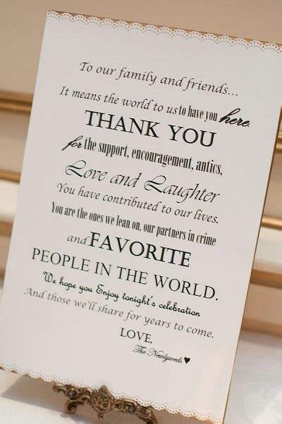Thank You Letter Wedding The Best Wedding Welcome Bags To Keep Your Guests Happy