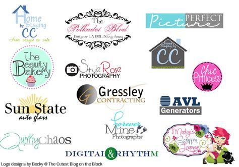 Design A Logo For Your Blog | the cutest blog on the block custom custom logo design