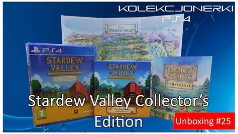 Ps4 Stardew Valley Collector S Edition Region 1 wyprowadzam się na wieś stardew valley edycja kolekcjonerska unboxing 25 kolekcjonerki ps4