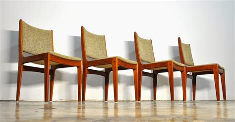 Danish Modern Dining Room Chairs by Select Modern Set Of 4 Danish Modern Teak Dining Chairs