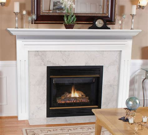 fireplace with fireplaceinsert pearl mantels newport fireplace mantel