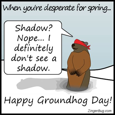 groundhog day slang meaning blindfolded groundhog cant see his shadow glitter graphic