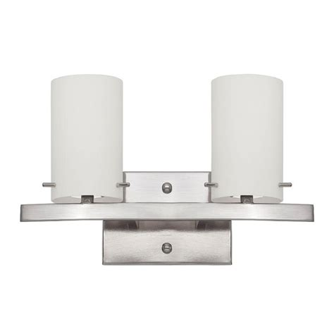 Bathroom Lighting Bright Luminance Ledbury 3 Light Bright Satin Nickel Vanity Light