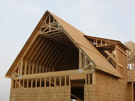 house plans with attic types of attic roof trusses