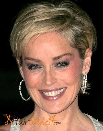 sharon stone most recent hairstyle sharon stone hairstyles hairstyles4 com