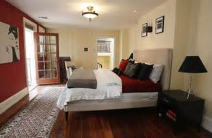 Black And Beige Bedroom 18xx Pine Street Contemporary Bedroom Philadelphia