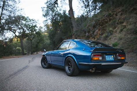 old nissan 240 this nissan fairlady 240z l is a rare japanese survivor