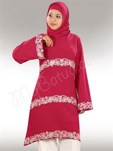 Tunik Blouse Muslim Melita fatimah islamic muslim top for modest islamic clothing www mybatua islamic tunics