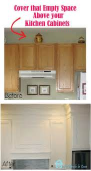 Adding Cabinets Above Kitchen Cabinets by Remodelando La Casa Closing The Space Above The Kitchen