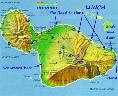 printable road to hana map married with bikes hawaii day 3 the road to hana halfway