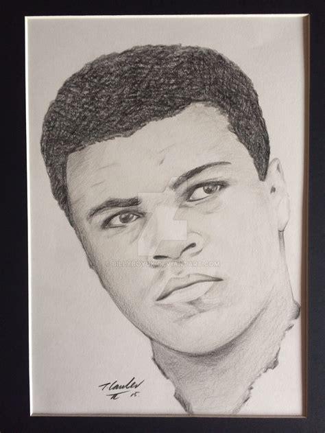 Pencil Alis muhammad ali pencil drawing by billyboyuk on deviantart