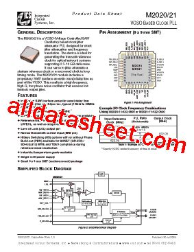 all about integrated circuits pdf m2021 datasheet pdf integrated circuit systems