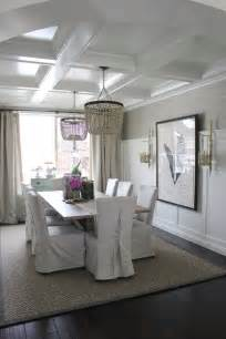 Dining Room Ceilings Add Personality To Your Interior With A Coffered Ceiling