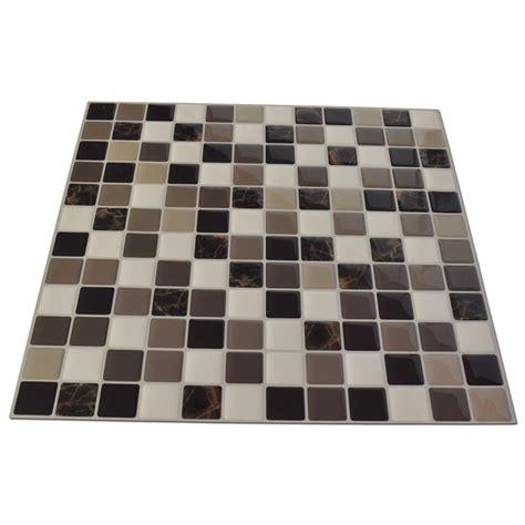 diy vinyl tile backsplash adhesive wall covering for