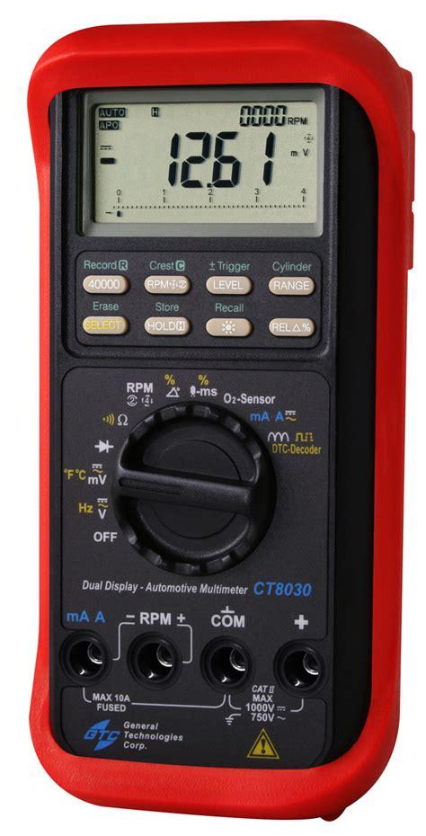 Automotive Multimeter ct8030 dual display pro automotive multimeter auto test tools