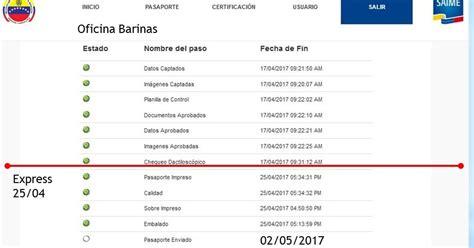 cuanto se tardan las devoluciones automaticas 2016 pasaportes venezuela cuanto tardan en darte el pasaporte