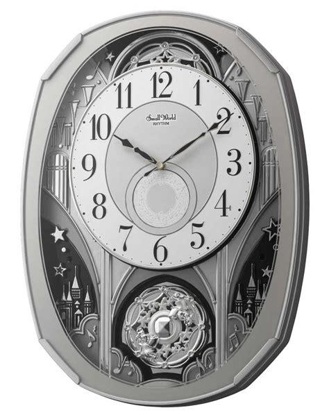 amazing wall clocks amazing gala wall clock by rhythm clocks musical