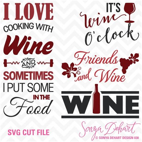 wine glass sayings svg svg cuttables wine kitchen sayings