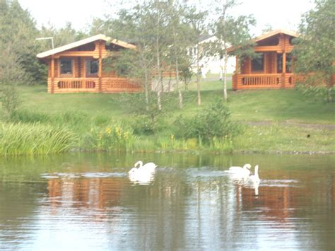 Log Cabins Alnwick by Felmoor Park Images
