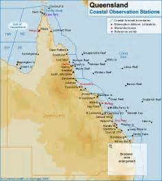 coastal map queensland coastal weather stations
