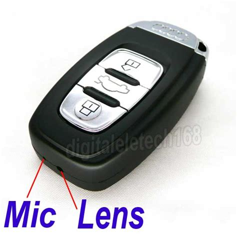 Endomoda Sn 08 The Best Quality new car key audi look alike keychain dvr spycameraspy