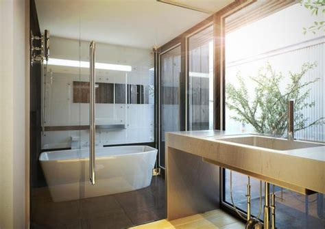 modern japanese bathroom minimalist white japanese contemporary bathroom decoist