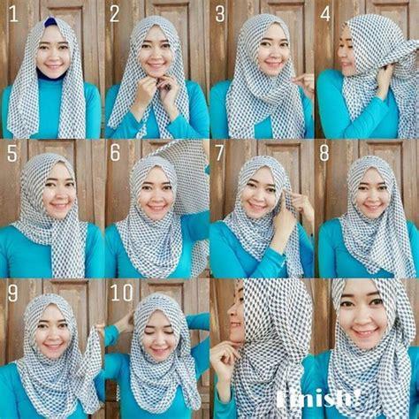 tutorial hijab paris untuk baju gamis 37 model hijab paris segi empat plus tutorial terbaru