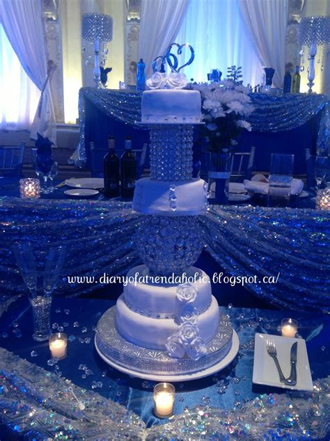 blue and silver theme diary of a trendaholic blue and silver wedding