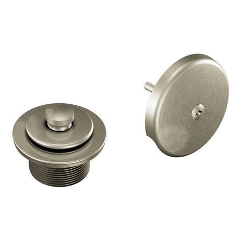 moen tub shower drain covers in brushed nickel t90331bn