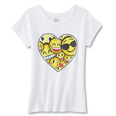 design a shirt with emojis girls graphic t shirt emojis shop your way online
