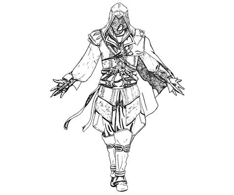 assassins creed colouring book assassins creed 3 coloring pages