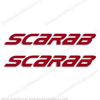 weldcraft boats logo scarab
