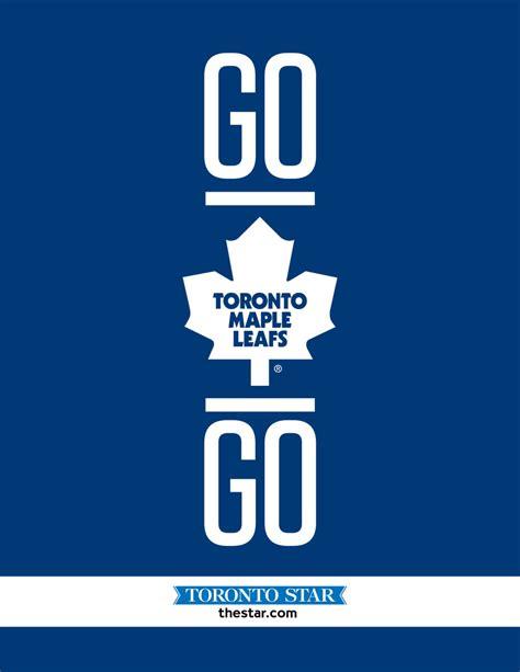 www go go leafs go contest win playoff tickets toronto